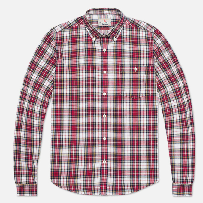 Barbour Farn Off Shirt White