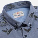 Мужская рубашка Barbour Gamefowl Indigo фото- 1