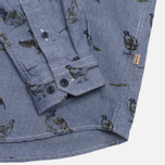 Мужская рубашка Barbour Gamefowl Indigo фото- 3