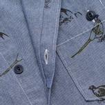 Мужская рубашка Barbour Gamefowl Indigo фото- 2