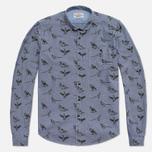 Мужская рубашка Barbour Gamefowl Indigo фото- 0