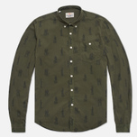 Мужская рубашка Barbour Gone Hunting Mid Olive фото- 0