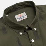 Мужская рубашка Barbour Gone Hunting Mid Olive фото- 1