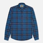 Мужская рубашка Barbour International Shadow Blue фото- 0