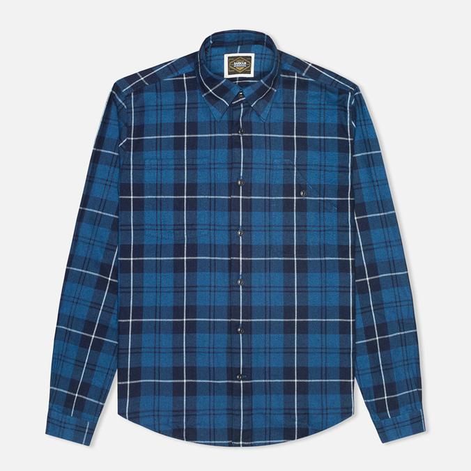 Мужская рубашка Barbour International Shadow Blue