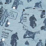 Barbour International Turbo Chambray Men's Shirt Blue photo- 2