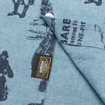 Мужская рубашка Barbour International Turbo Chambray Blue фото- 4