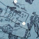 Barbour International Turbo Chambray Men's Shirt Blue photo- 3