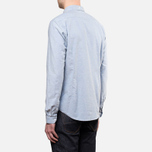 Мужская рубашка Barbour Leaton Light Chambray фото- 3