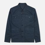 Мужская рубашка Barbour Marshall Navy фото- 0