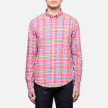 Мужская рубашка Barbour Net Amber фото- 0