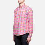 Мужская рубашка Barbour Net Amber фото- 1