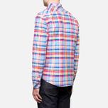 Мужская рубашка Barbour Net Aqua фото- 3