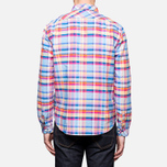 Мужская рубашка Barbour Net Aqua фото- 4