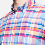 Мужская рубашка Barbour Net Aqua фото- 5