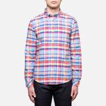 Мужская рубашка Barbour Net Aqua фото- 0