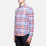Мужская рубашка Barbour Net Aqua фото- 1