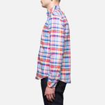 Мужская рубашка Barbour Net Aqua фото- 2