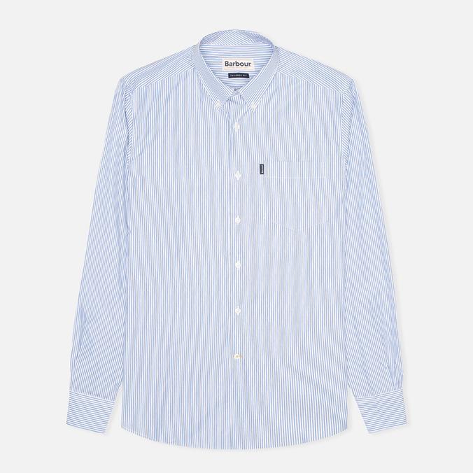 Barbour Norman Regular Fit Men's Shirt Sky