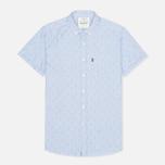Мужская рубашка Barbour Stormer Marine Blue фото- 0