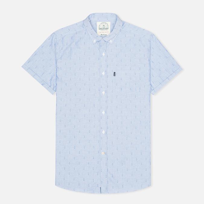 Мужская рубашка Barbour Stormer Marine Blue