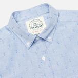 Мужская рубашка Barbour Stormer Marine Blue фото- 1