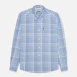 Мужская рубашка Barbour Terence Blue фото- 0