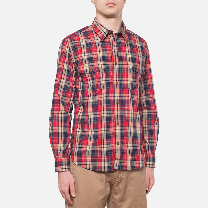 Barbour Union Red