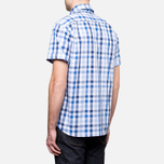 Мужская рубашка Barbour Windermere Short Sleeve Navy фото- 3