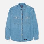 Мужская рубашка Bleu De Paname Chemise Bureau Denim Bleached фото- 0