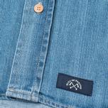 Мужская рубашка Bleu De Paname Chemise Bureau Denim Bleached фото- 4