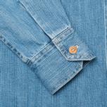 Мужская рубашка Bleu De Paname Chemise Bureau Denim Bleached фото- 3