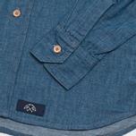 Bleu De Paname Standart Shirt Bleu Pastel photo- 3