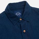 Рубашка мужская Bleu De Paname Standart Indigo фото- 1
