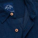 Рубашка мужская Bleu De Paname Standart Indigo фото- 2