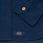 Рубашка мужская Bleu De Paname Standart Indigo фото- 3