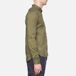 C.P. Company Long Sleeve Embossed Cotton Olive photo- 1