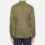 C.P. Company Long Sleeve Embossed Cotton Olive photo- 3