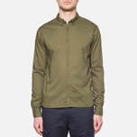 C.P. Company Long Sleeve Embossed Cotton Olive photo- 6