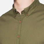 C.P. Company Long Sleeve Embossed Cotton Olive photo- 4