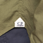 C.P. Company Long Sleeve Embossed Cotton Olive photo- 5