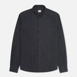Мужская рубашка C.P. Company Old Dyed Poplin Navy фото- 0