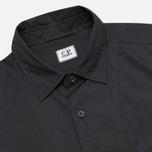 Мужская рубашка C.P. Company Old Dyed Poplin Navy фото- 1