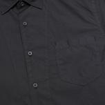 Мужская рубашка C.P. Company Old Dyed Poplin Navy фото- 2