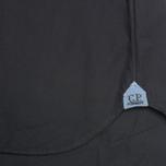 Мужская рубашка C.P. Company Old Dyed Poplin Navy фото- 4