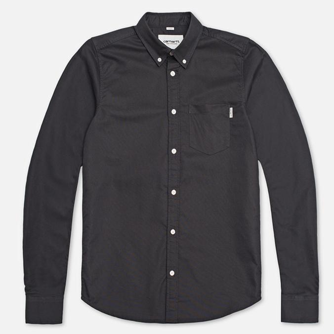 Мужская рубашка Carhartt WIP Buck Eclipse Rinsed