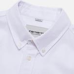 Мужская рубашка Carhartt WIP Buck White Rinsed фото- 1