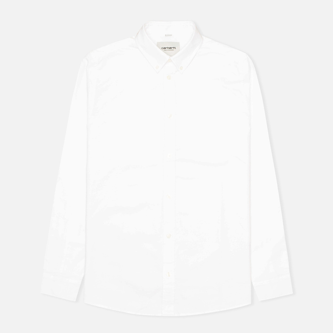 Мужская рубашка Carhartt WIP Button Down Oxford White