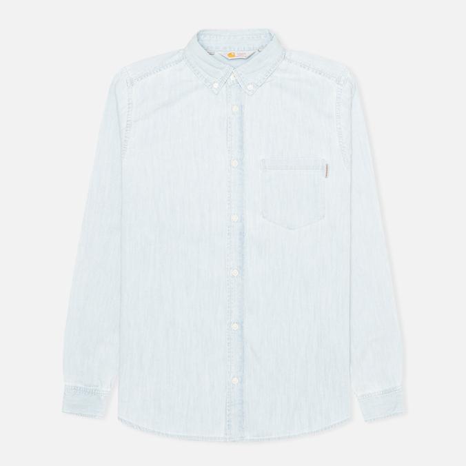 Мужская рубашка Carhartt WIP Civil Blue Stone Bleached