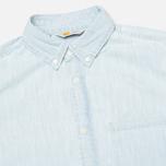 Мужская рубашка Carhartt WIP Civil Blue Stone Bleached фото- 1